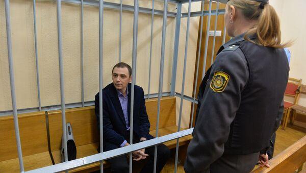 Максим Субботкин в зале суда - Sputnik Беларусь