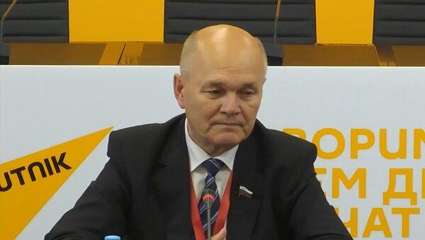 Сенатор Щетинин о выборах в РФ: накал страстей будет возрастать - Sputnik Беларусь