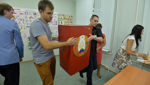 Члены выбаркама рыхтуюцца да падліку галасоў - Sputnik Беларусь