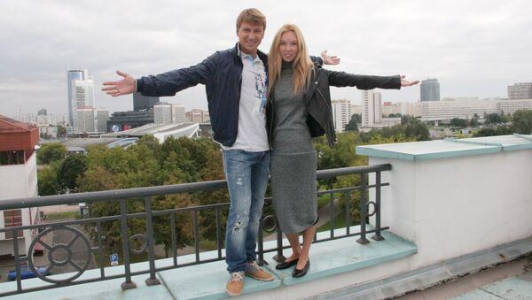 Алексей Ягудин и Татьяна Тотьмянина - Sputnik Беларусь
