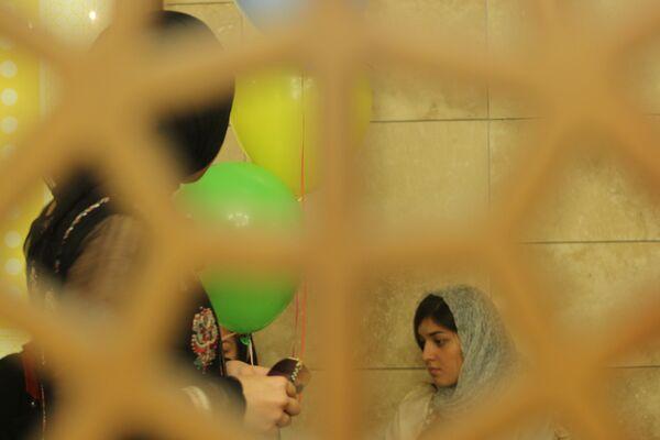 На женской половине минской мечети - Sputnik Беларусь