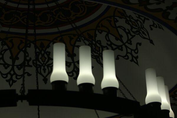 Светильники в мечети - Sputnik Беларусь