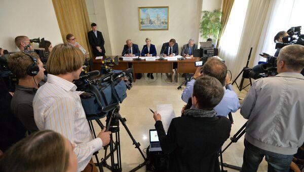 Пресс-конференция участников белорусско-литовских переговоров по БелАЭС - Sputnik Беларусь
