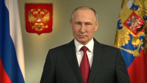 Зварот Пуціна да грамадзян Расіі перад выбарамі - Sputnik Беларусь