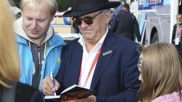 Четырехкратный олимпийский чемпион Александр Тихонов - Sputnik Беларусь