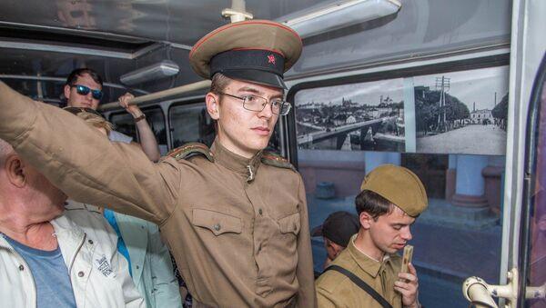Рэтра-тралейбус - Sputnik Беларусь