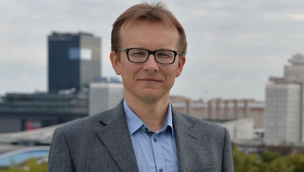 Экономист Вячеслав Ярошевич - Sputnik Беларусь