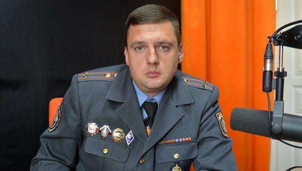 Намеснік начальніка ДАІ г. Мінска Андрэй Зыранаў - Sputnik Беларусь