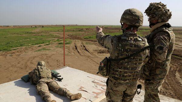 Военнослужащие США и Коалиции в Ираке. - Sputnik Беларусь