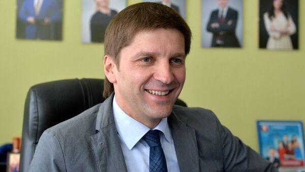 Руководитель Агентства телевизионных новостей Иван Эйсмонт - Sputnik Беларусь