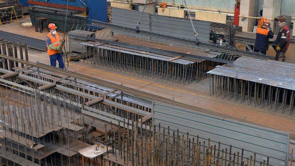 Строительство Белорусской АЭС в Островце - Sputnik Беларусь