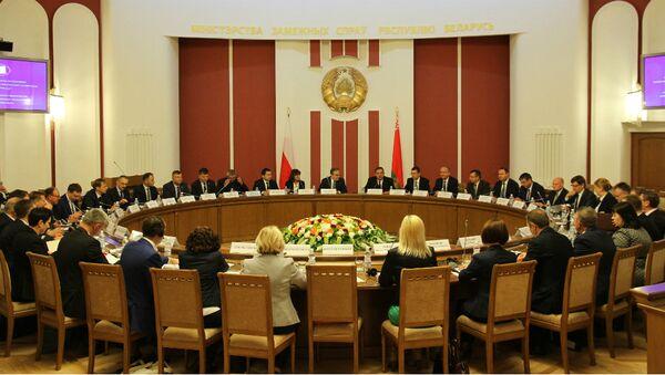 Заседание белорусско-польской межправительственной комиссии по вопросам трансграничного сотрудничества - Sputnik Беларусь