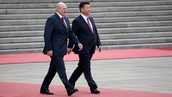 Сі Цзіньпін і Аляксандр Лукашэнка - Sputnik Беларусь