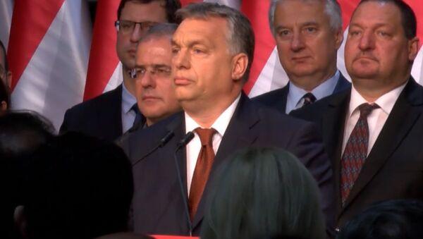 СПУТНИК_Прэм'ер Венгрыі: мы будзем супрацьстаяць рашэнням ЕС аб прыёме бежанцаў - Sputnik Беларусь