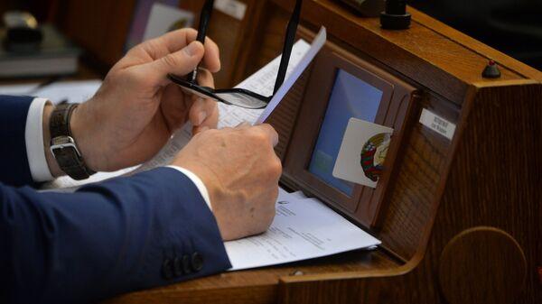 Работа депутата в парламенте - Sputnik Беларусь