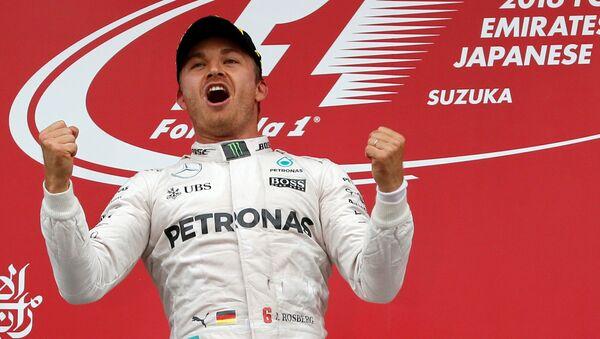 Победитель Гран-при Японии Нико Росберг - Sputnik Беларусь
