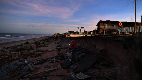 Последствия урагана Мэтью в штате Флорида - Sputnik Беларусь