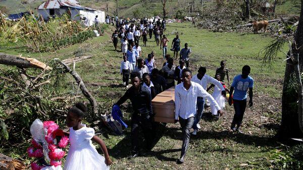 Похороны в Гаити - Sputnik Беларусь