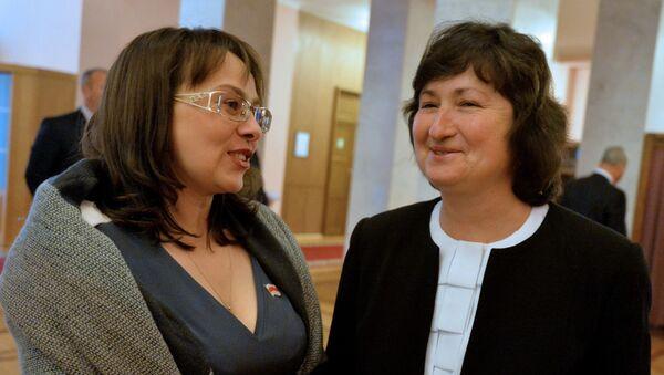 Канопацкая и Анисим - Sputnik Беларусь