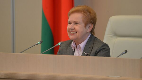 Лидия Ермошина открыла первую сессию верхней палаты парламента  - Sputnik Беларусь