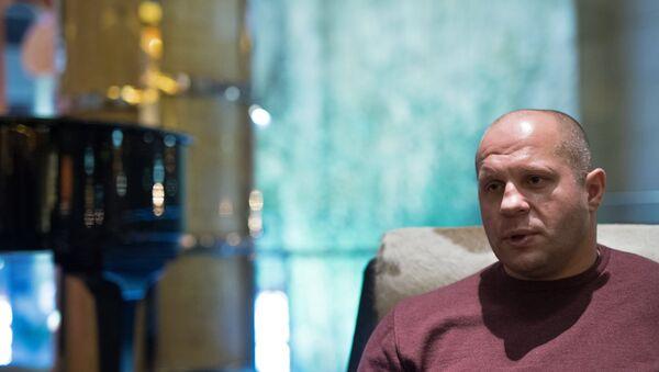 Многократный чемпион мира по боям без правил и боевому самбо Федор Емельяненко - Sputnik Беларусь