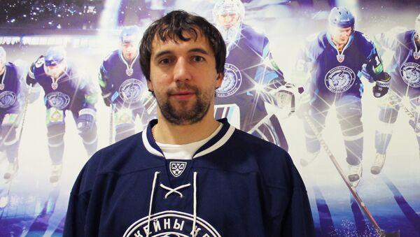 Белорусский хоккеист Александр Китаров - Sputnik Беларусь
