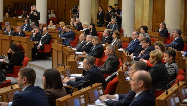 Дэпутаты беларускага парламента - Sputnik Беларусь