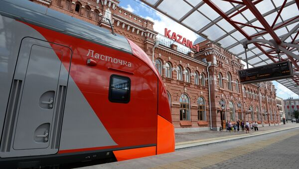 Вокзал в Казани - Sputnik Беларусь