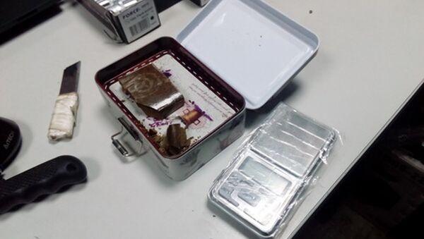 Наркотики, найденные на рынке - Sputnik Беларусь