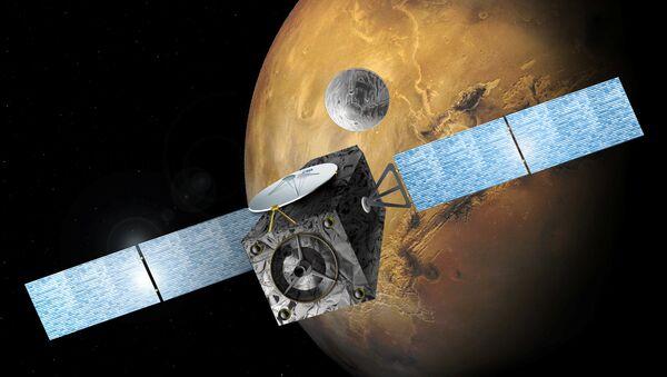 Зямны модуль Schiaparelli спусціўся на Марс і знік - Sputnik Беларусь
