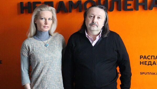 Ирина Видова и Олег Молчан - Sputnik Беларусь