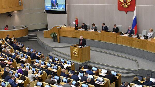Пленарное заседание Госдумы РФ - Sputnik Беларусь