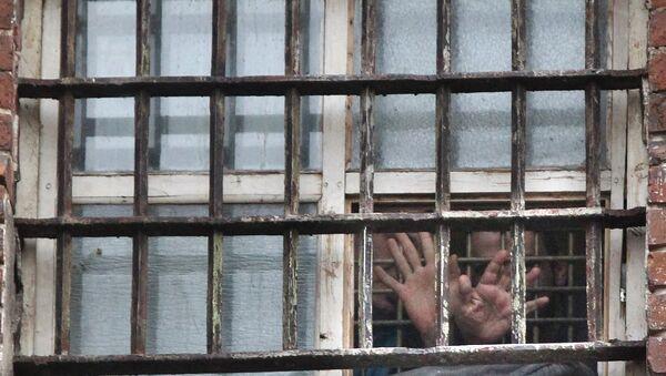Заключенные в камере, архивное фото - Sputnik Беларусь