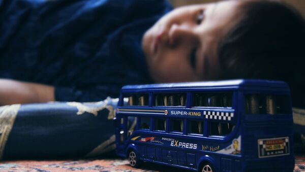 Ребенок, архивное фото - Sputnik Беларусь
