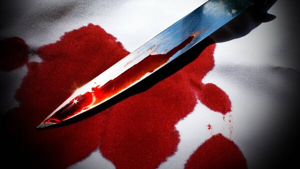 Нож в крови - Sputnik Беларусь