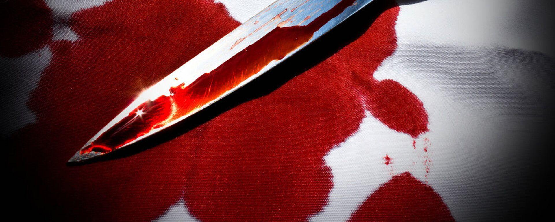 Нож в крови - Sputnik Беларусь, 1920, 30.04.2021