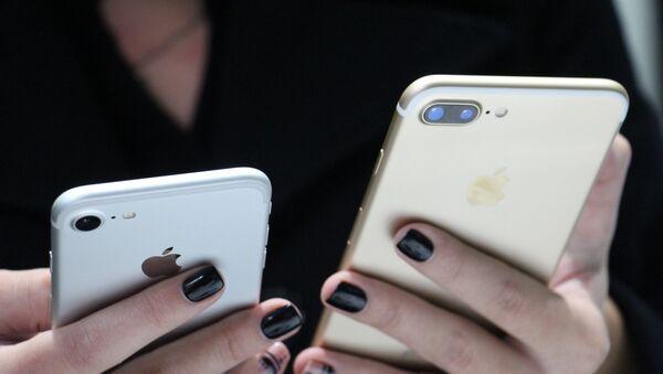 Старт продаж iPhone 7 и 7 Plus в Беларуси - Sputnik Беларусь