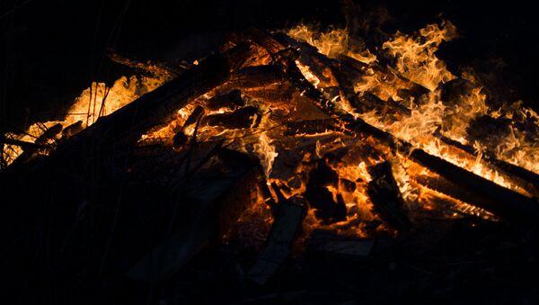 Пажар, архіўнае фота - Sputnik Беларусь