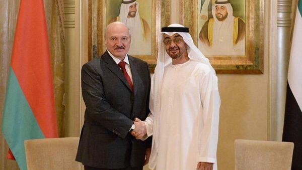 Што абмяркоўвалі прэзідэнт Лукашэнка і наследны прынц Абу-Дабі? - Sputnik Беларусь