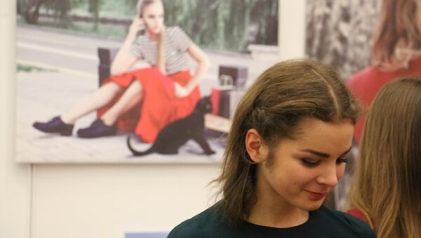 Гости Недели моды не уступают моделям на подиуме - Sputnik Беларусь