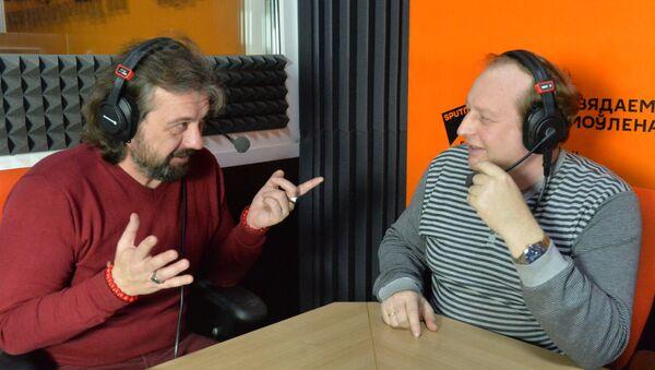 Александр Кривошеев и Андрей Качура - Sputnik Беларусь