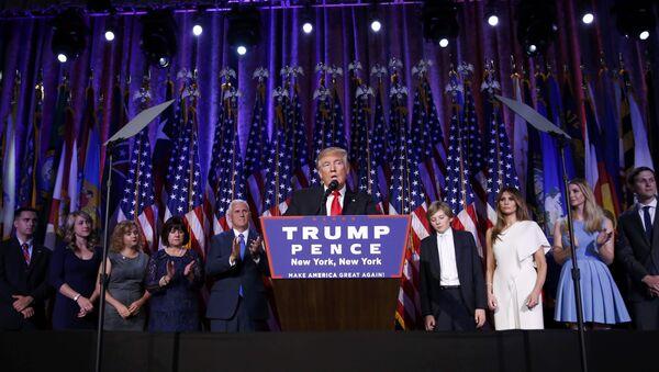 Избранный президент США Дональд Трамп - Sputnik Беларусь