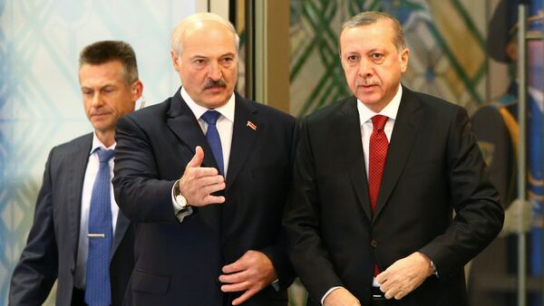Аляксандр Лукашэнка і Рэджэп Эрдаган - Sputnik Беларусь