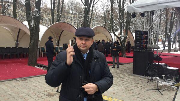 Шорец прибыл в мечеть - Sputnik Беларусь