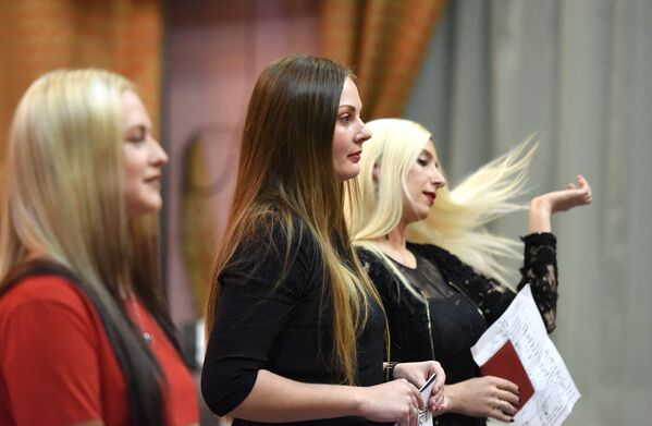 Кастынг Місіс Гомель - 2016 - Sputnik Беларусь