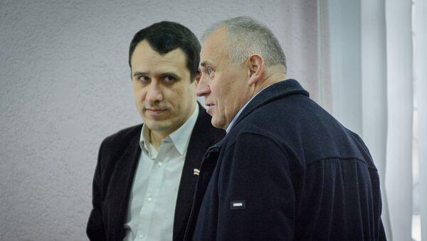 Павел Северинец и Николай Статкевич, архивное фото - Sputnik Беларусь