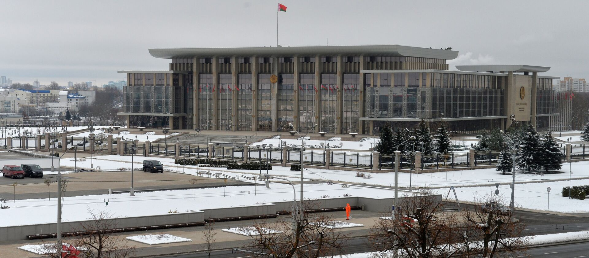 Палац Незалежнасці - Sputnik Беларусь, 1920, 02.02.2021