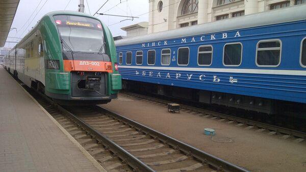 В поезде - Sputnik Беларусь