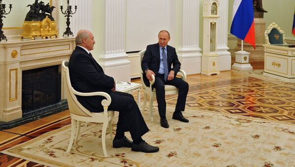 Рабочая встреча президента РФ В. Путина с президентом Беларуси А. Лукашенко - Sputnik Беларусь