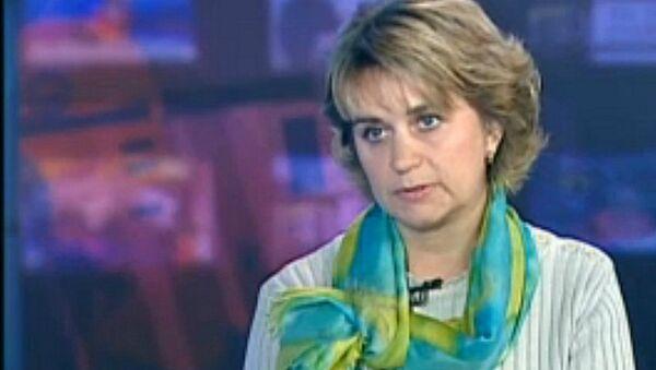 Галоўны эпідэміёлаг рэспублікі Іна Карабан - Sputnik Беларусь